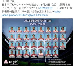 日本代表31人@JRFUMedia